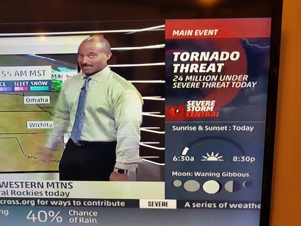 TV am High Risk - Tag