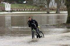 Hochwasser Ilm Weimar