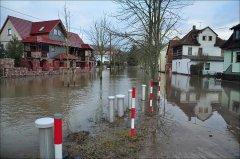 Hochwasser Werra Bad Salzungen