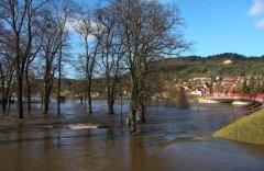 Hochwasser Werra Treffurt
