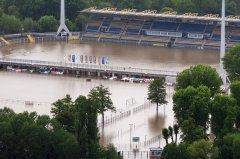Hochwasser Jena